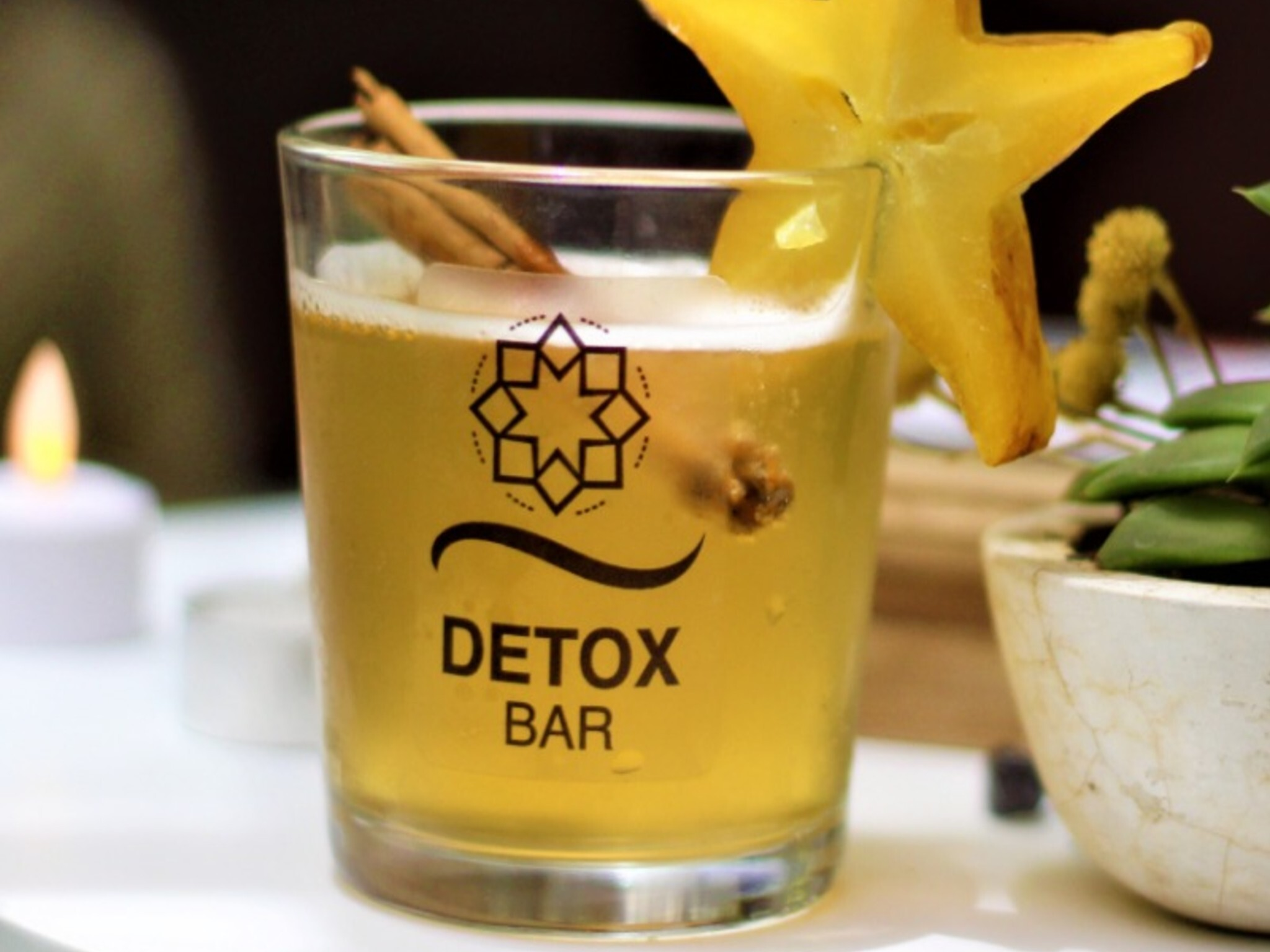 Vitali Detox Bar coctel de kombucha con maracuyá