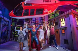 Superman at Madame Tussauds