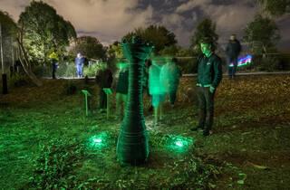 Nox Night Sculpture Walk (Photograph: Anna Warr)
