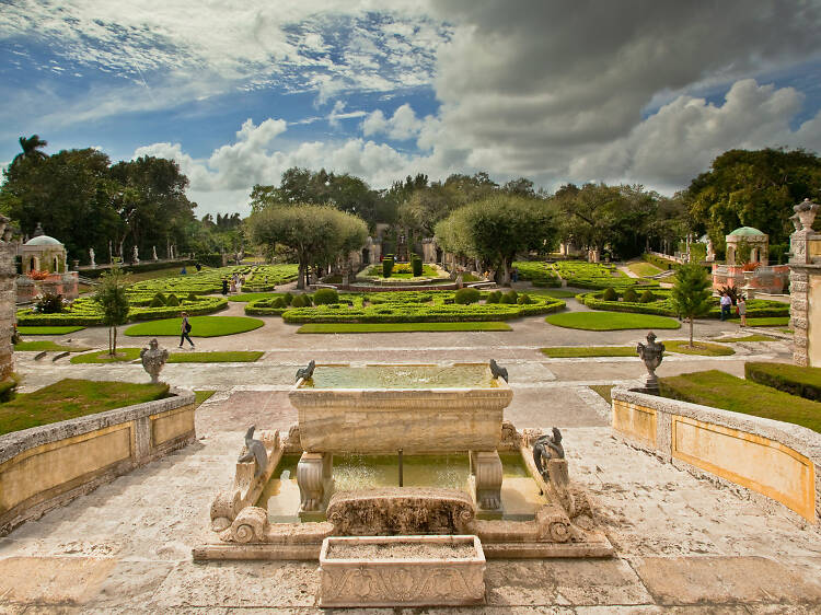 Stroll the magnificent Vizcaya Museum & Gardens