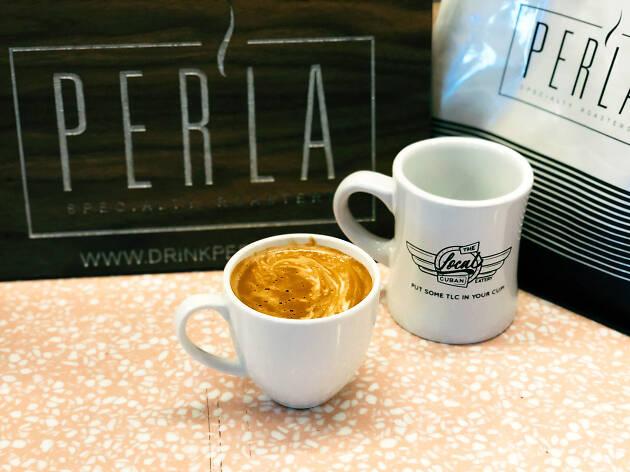 The Local Cuban coffee
