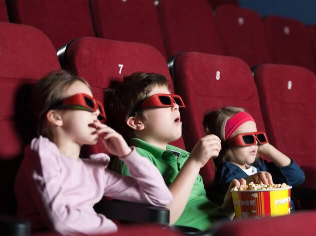 Cine para niños en la CDMX