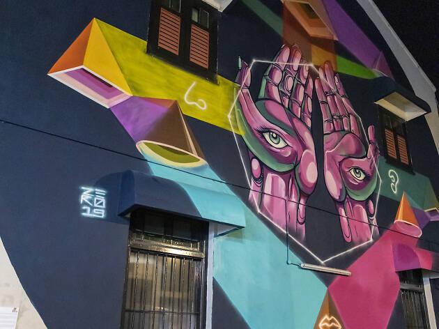 ZERO, graffiti