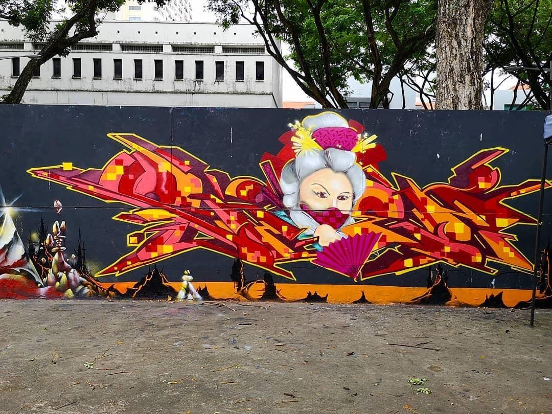 Shen3, graffiti