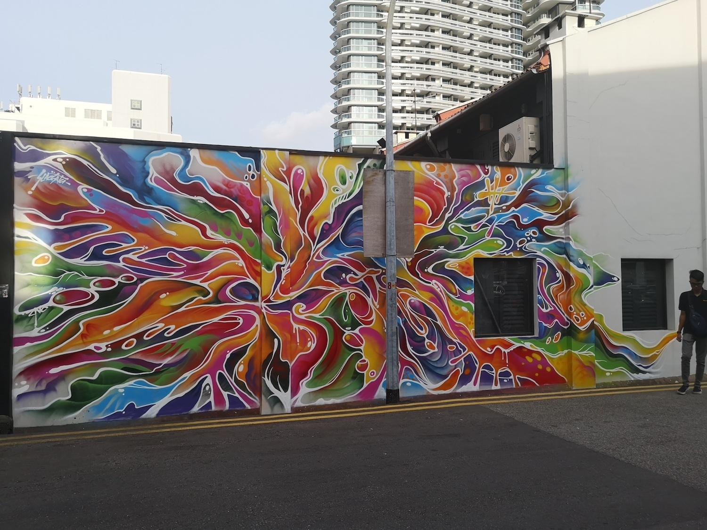 Slacsatu, graffiti