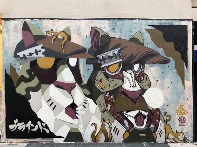Ink & Clog, graffiti