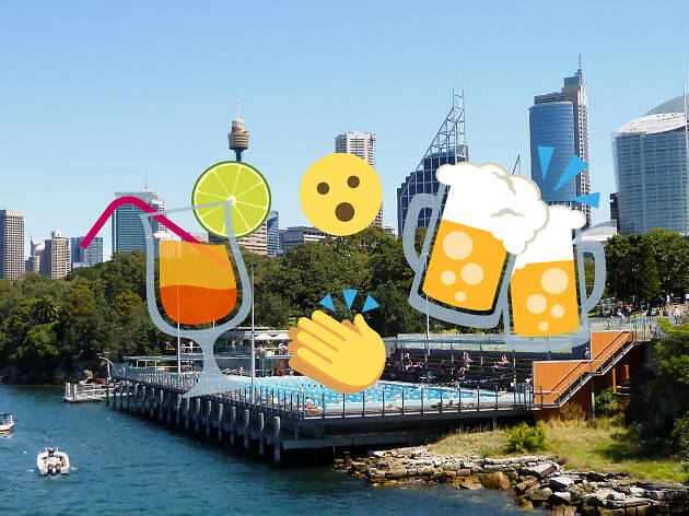 Six surprising places to get a drink in Sydney