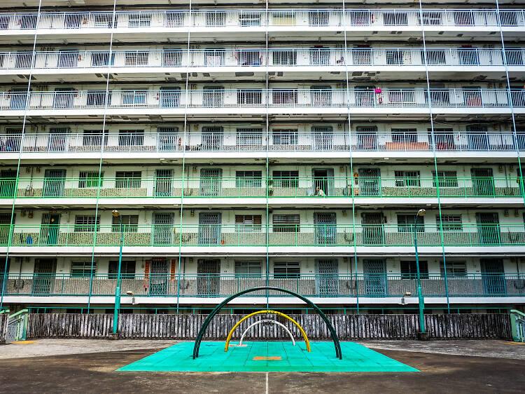 南山邨:最型遊樂場