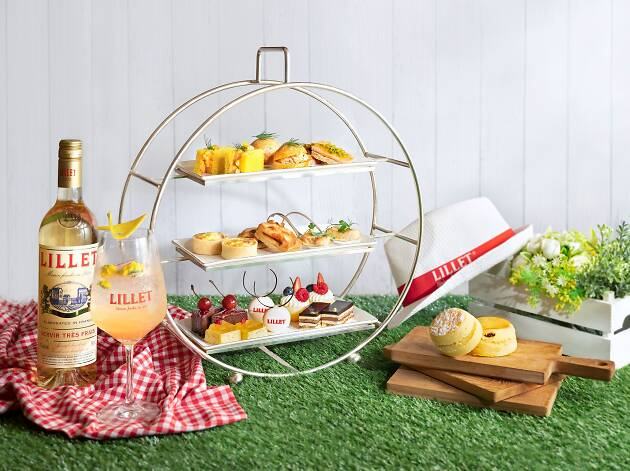 Lillet x Conrad Afternoon Tea