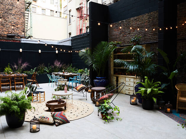Blooming Gardens Gorgeous Patios And Sidewalk Cafes Are Among New York S Best Outdoor Restaurants