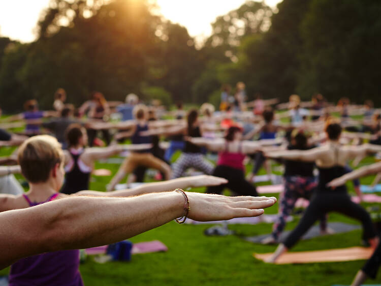 Awesome outdoor yoga options in NYC