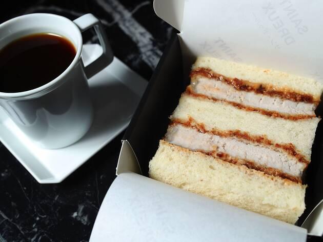 Katsu Sandwich at Saint Dreux