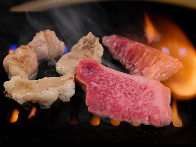 切り売り焼肉 江戸牛
