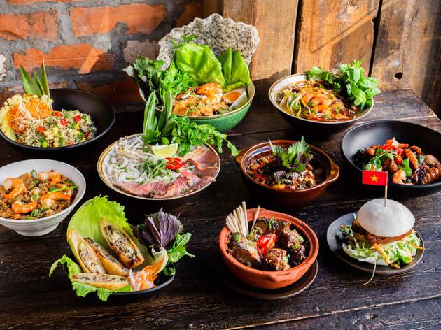 An exclusive four course meal at Pho & Bun