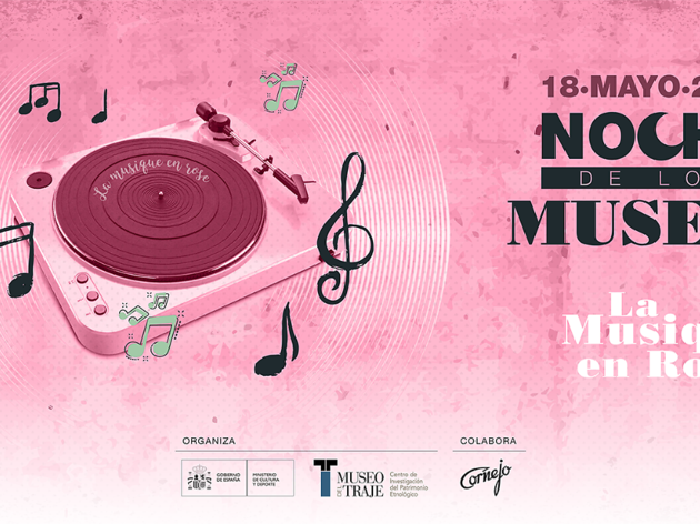 La musique en rose Museo de traje la noche de los museos