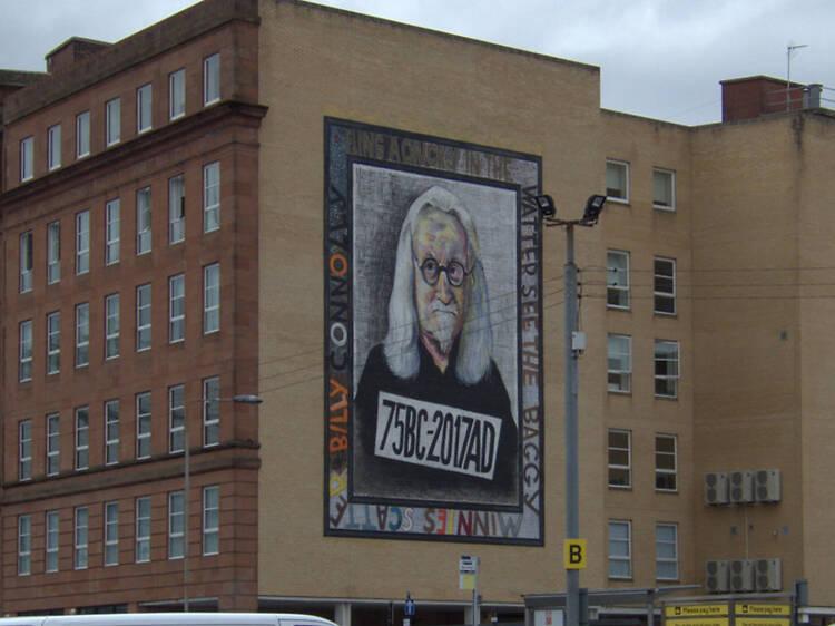 Soak up art on the City Centre Mural Trail