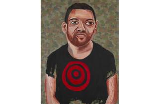 (Vincent Namatjira, 'Art is our weapon – portrait of Tony Albert')
