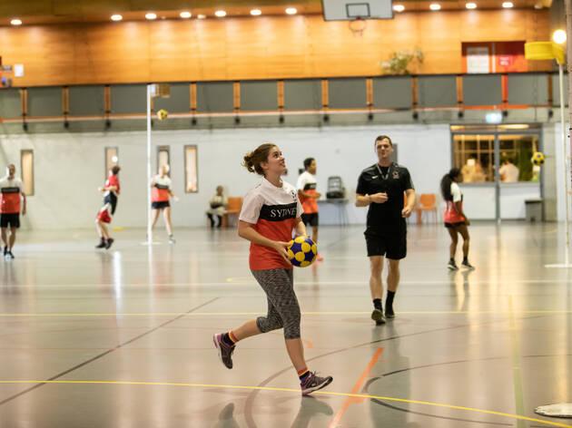Korfball (Photograph: Daniel Boud )