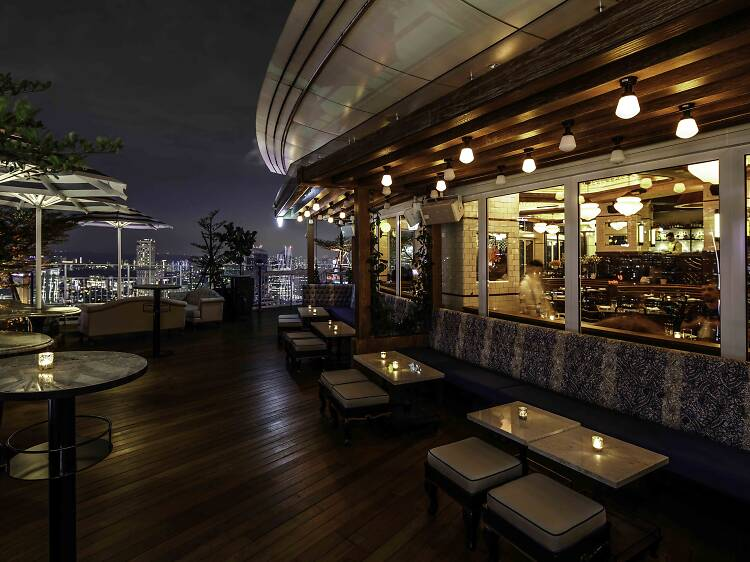 Party under the stars at Lavo