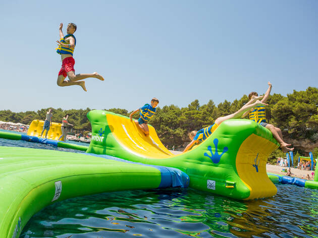 Woo! An epic inflatable water park will open just in time for summer