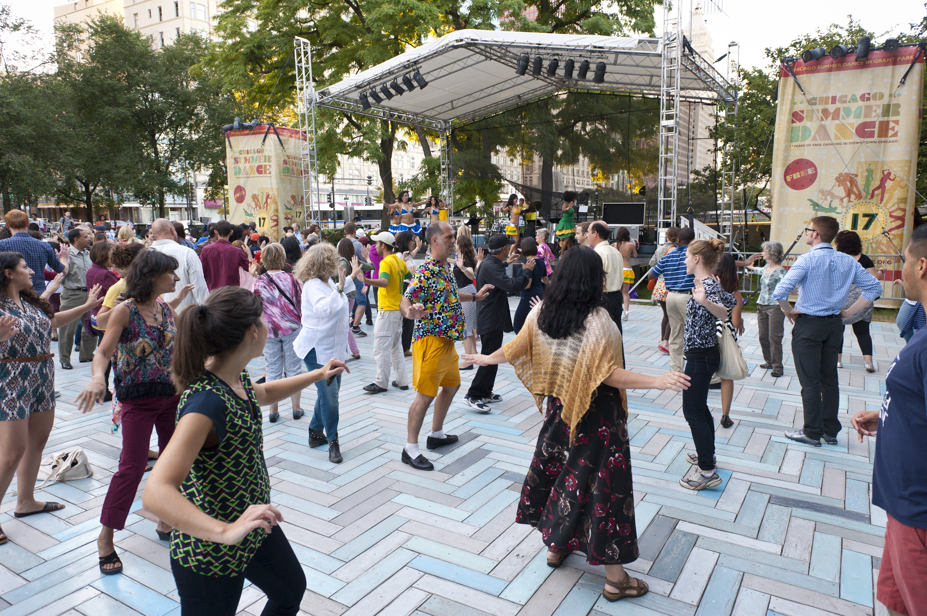 Check out the complete Chicago SummerDance 2019 schedule