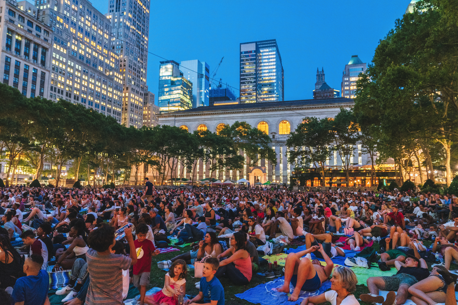 Check out the films for Bryant Park's outdoor movie nights