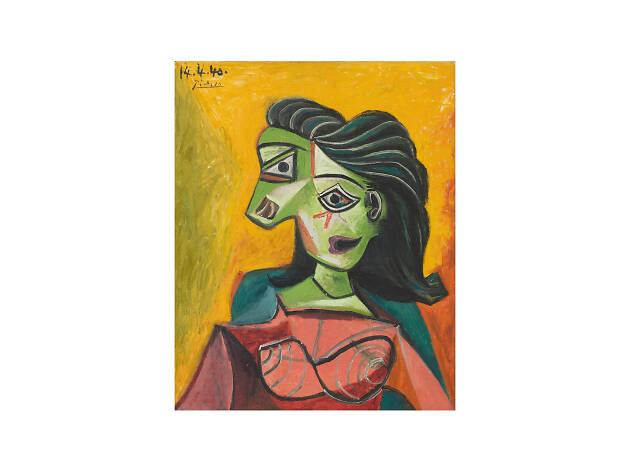 Pablo Picasso, Buste de femme (Dora Maar), 1940
