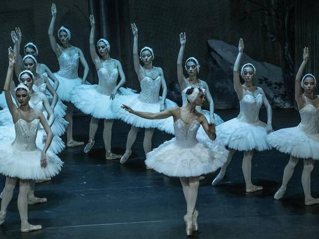 El lago de los cisnes. Ballet de Moscú