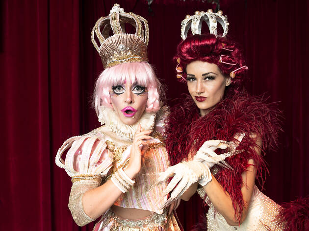 The Oyster Club's Marlena Dali and Porcelain Alice on Chippendale after dark