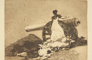 Francisco de Goya Que valor! Desastres de la guerra, 7 1810-1814