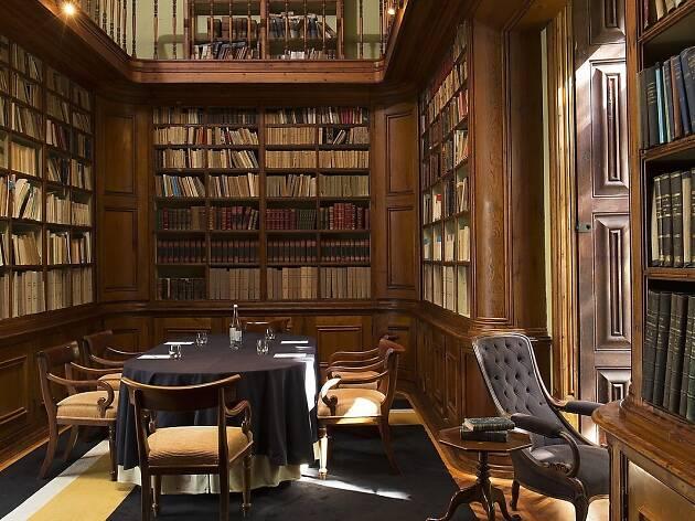 Quinta das Lágrimas - Biblioteca