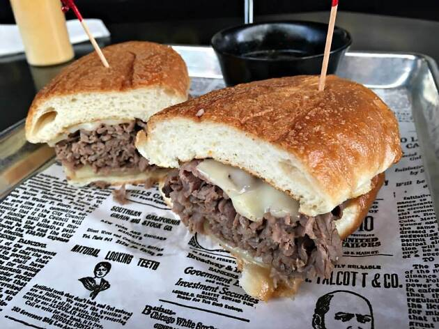 Cole's French Dip Sandwich in Downtown LA DTLA Los Angeles