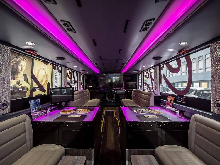 Eat dim sum on a tour bus