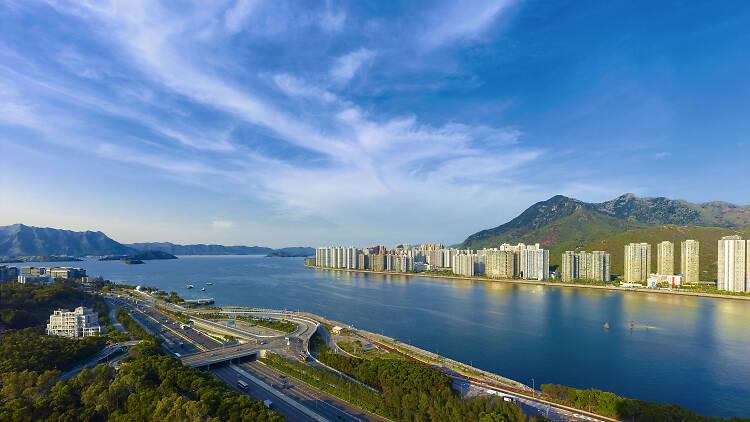 Harbour View from Hyatt Regency Hong Kong, Sha Tin