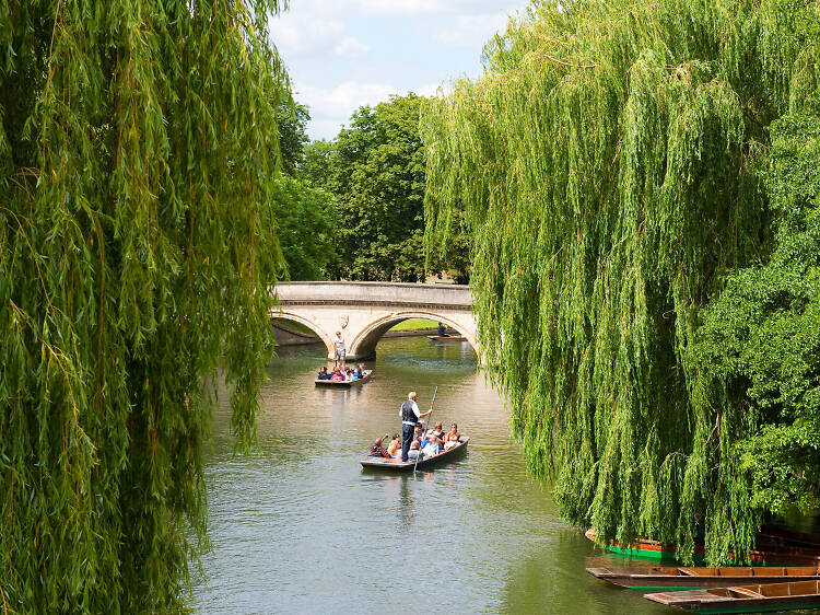 A perfect day in Cambridge