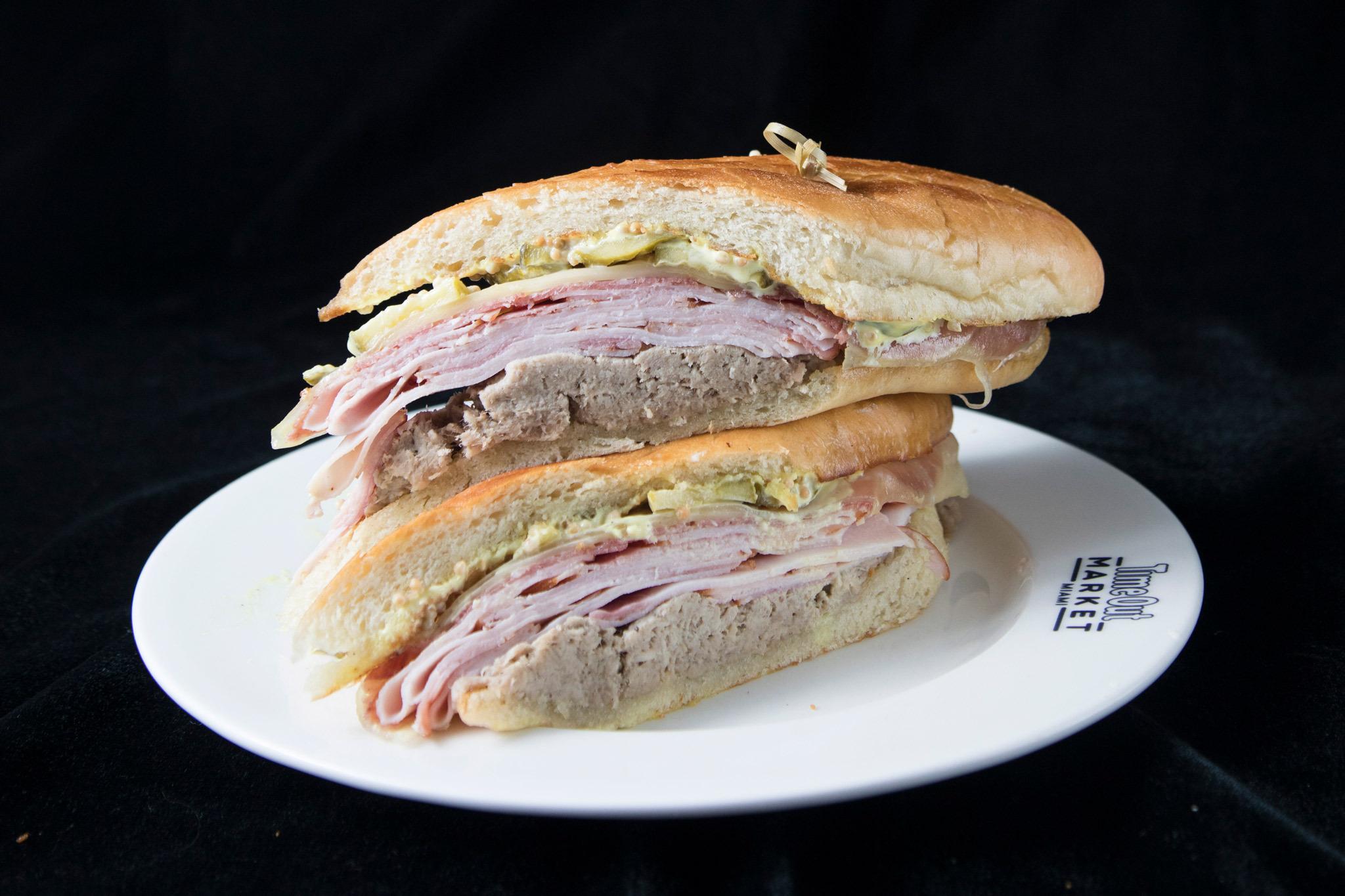 Cuban sandwich at the Local Cuban
