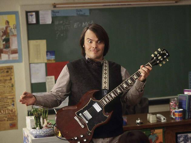 Dewey Finn de Escuela del Rock