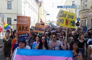 Zagreb Pride march