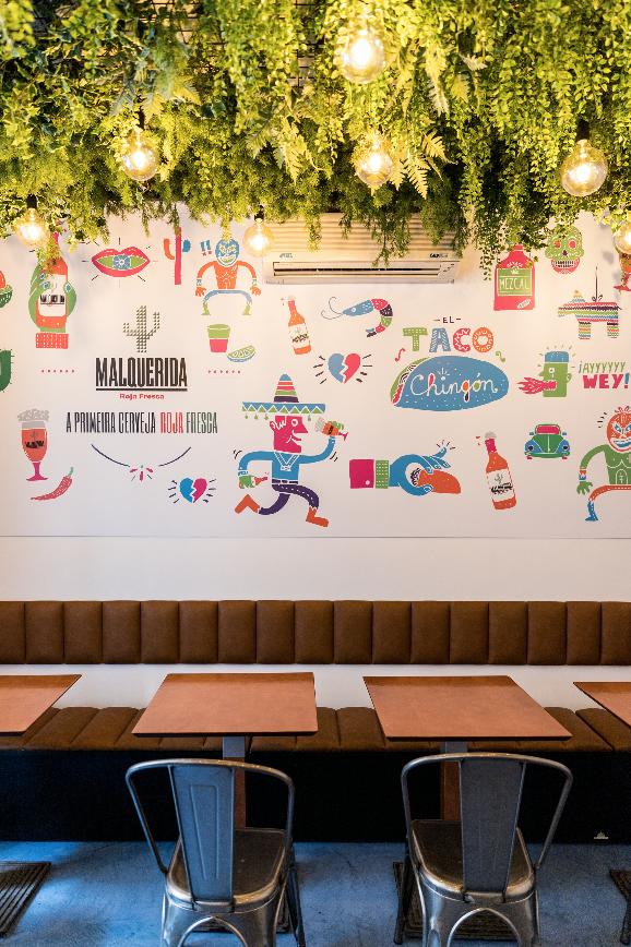 O novo restaurante do El Taco Chingón