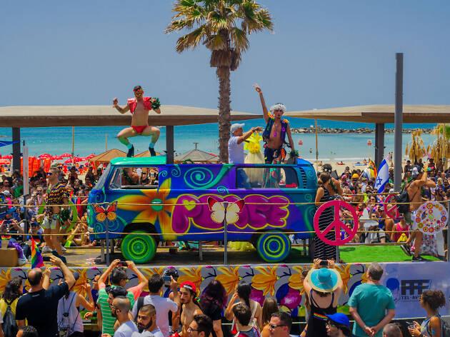 Celebrations at Tel Aviv pride