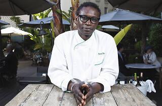 Pierre Thiam cuina al Cotton House