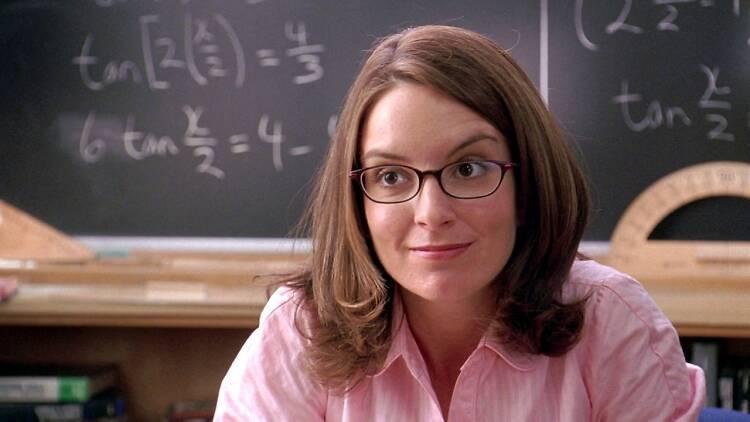 Tina Fey como la profesora Norbury en Chicas Pesadas