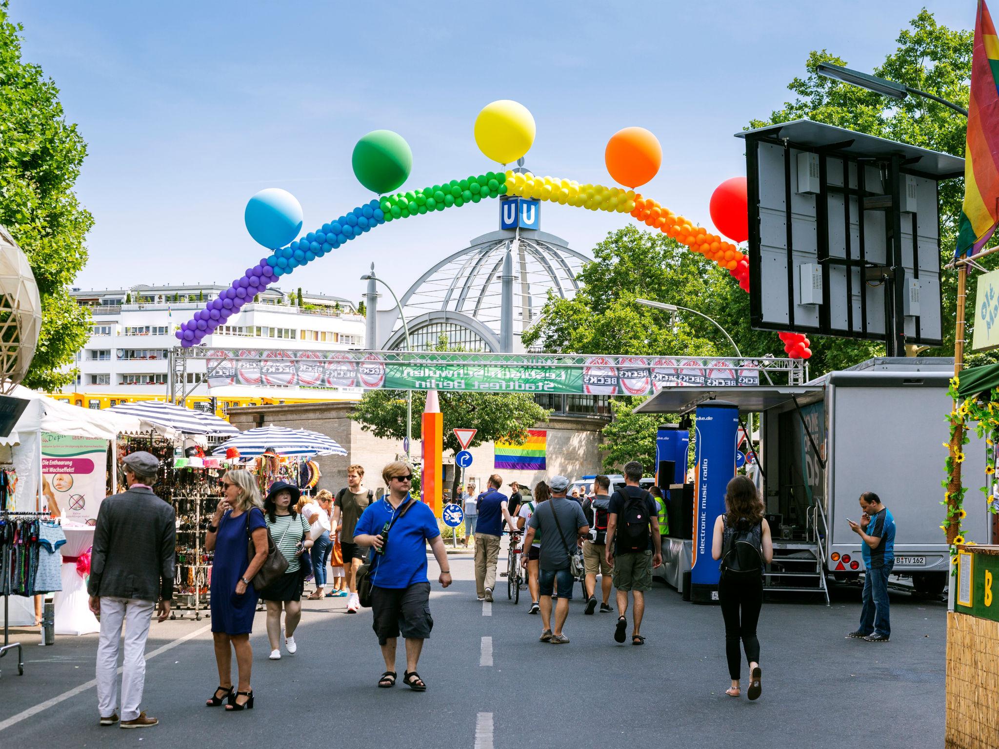 Celebrations at Berlin Pride