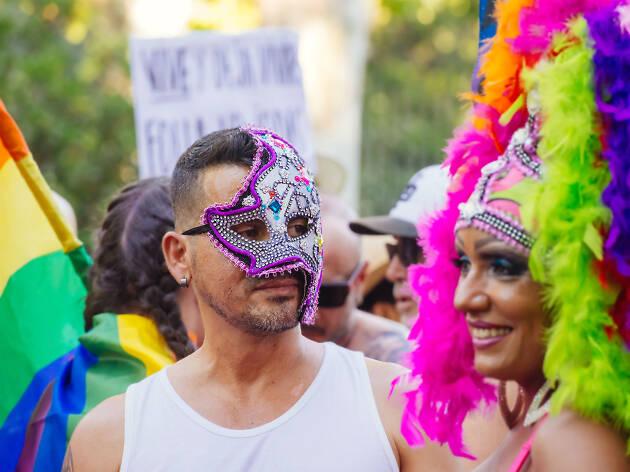 Pride celebrations in Madrid