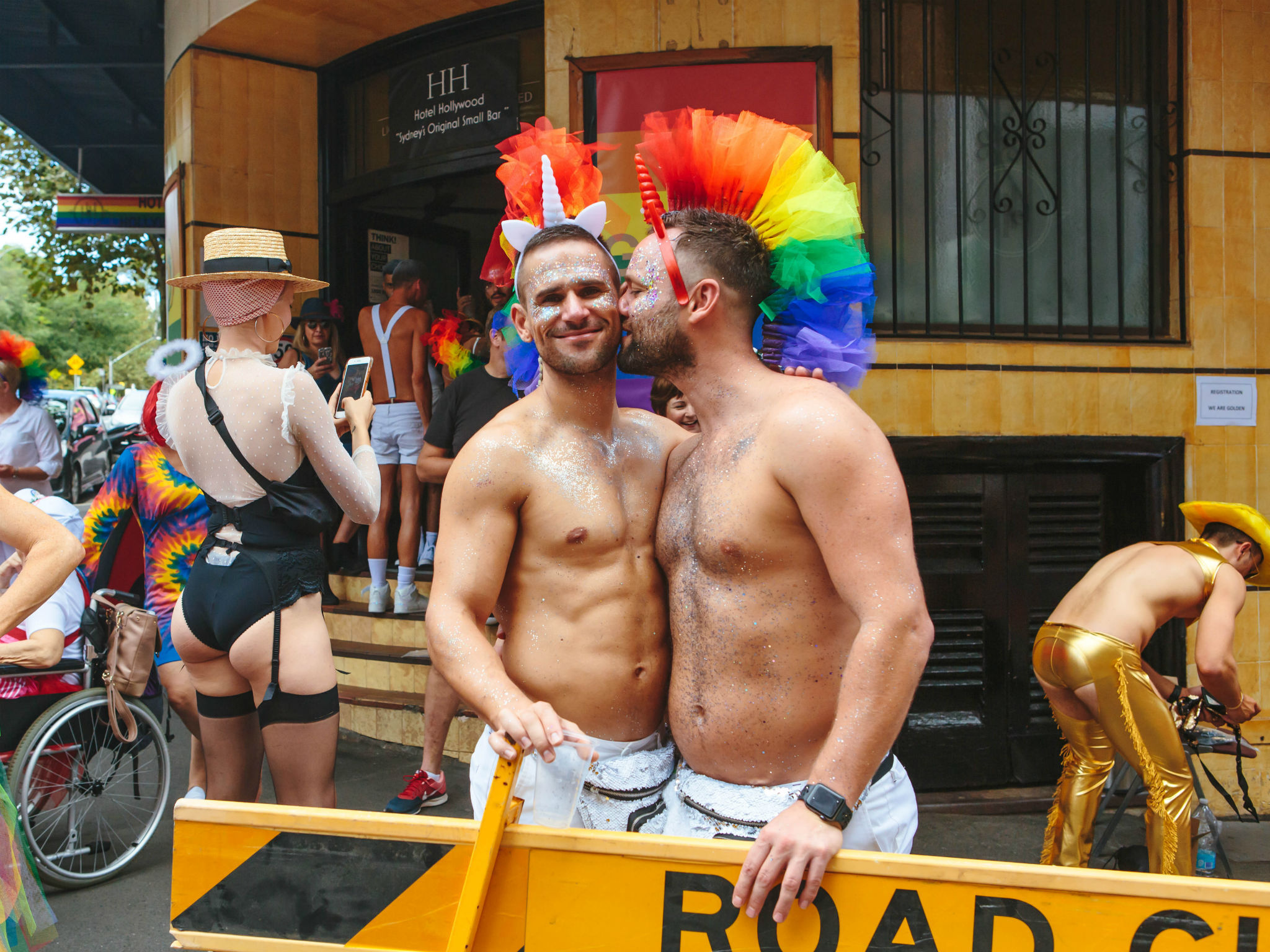 Pride celebrations in Sydney
