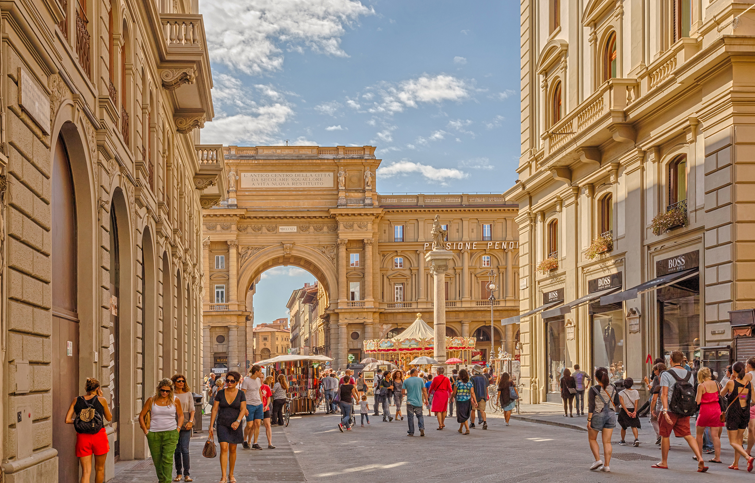Shopping In Florence Where To Go And What To Buy