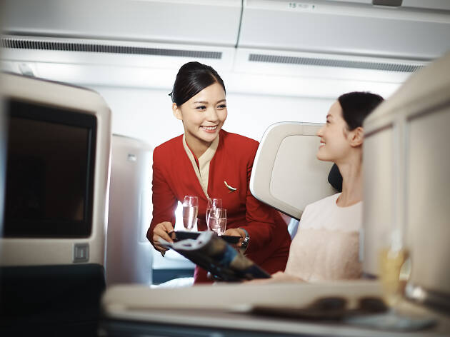 "Five ways Cathay Pacific ""Move Beyond"" for customers"