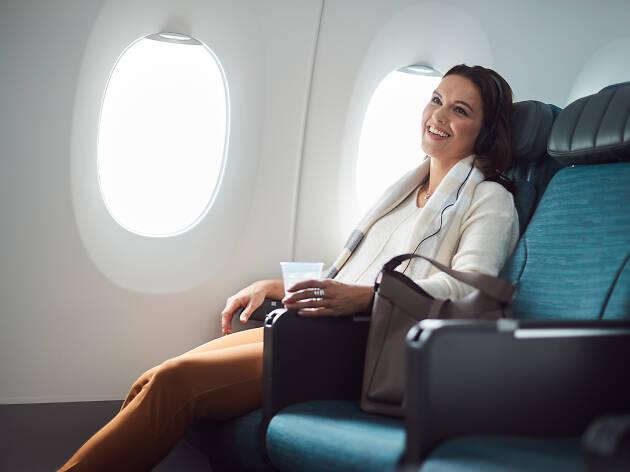 Cathay Pacific economy class
