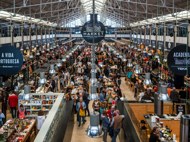 Os restaurantes do Time Out Market Lisboa