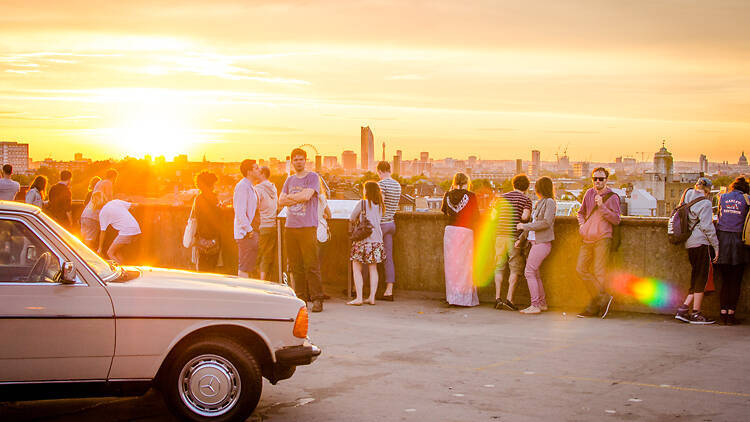 Peckham rooftop bar Frank's Cafe is back for the summer